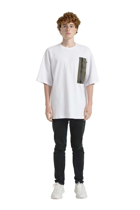Oversize T-Shirt with Pocket (Unisex)