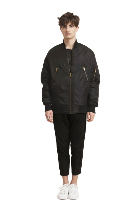 Quilted Patchwork Bomber Jacket (Unisex)