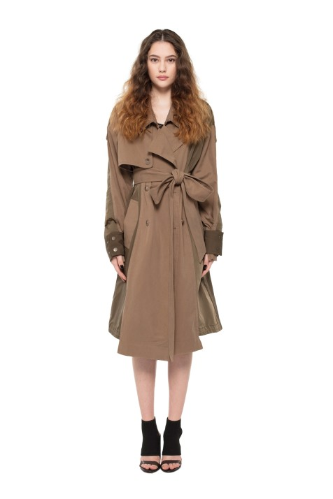 Trench Parka Coat (Unisex)
